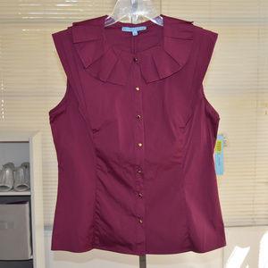 Antonio Melani sleeveless top size large nwt